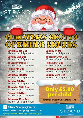 Our Christmas Grotto is open!