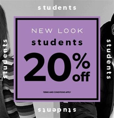 Student January offer from New Look