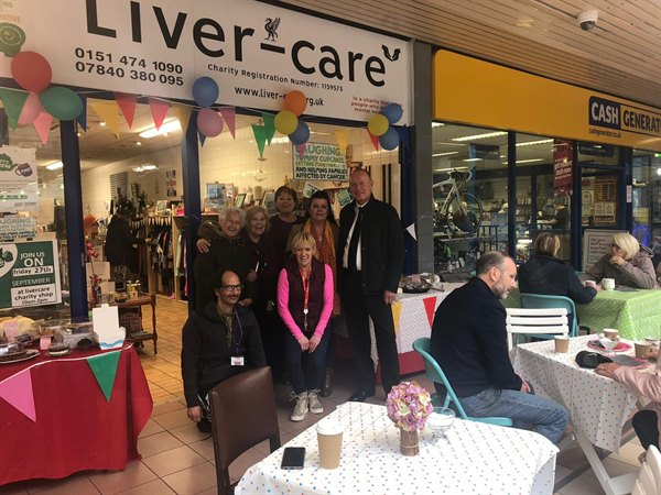 retailers come together for Macmillian Cancer coffee morning.